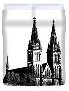 Chapter Church Of St Peter And Paul Duvet Cover