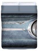 Chevrolet Corvair Emblem Duvet Cover