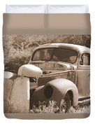Chevrolet Rust Bucket Duvet Cover