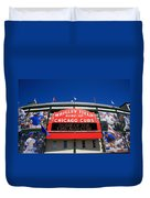 Chicago Cubs - Wrigley Field Duvet Cover