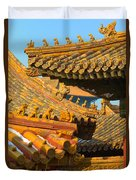 China Forbidden City Roof Decoration Duvet Cover