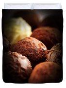 Chocolate Truffles Duvet Cover
