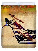 Chopper Art Duvet Cover