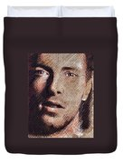 Chris Martin - Coldplay Duvet Cover