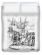 Christopher Columbus (1451-1506) Duvet Cover