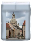 Church Of Our Lady  -  Dresden - Germany Duvet Cover