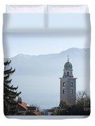 Church Tower Duvet Cover
