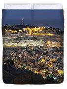 City Of Gold Duvet Cover