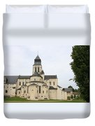Cloister Fontevraud -  France Duvet Cover