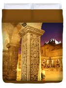 Cloisters At Sunset Arequipa Duvet Cover