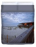 Cloudy Morning At The Sea N Suds Duvet Cover