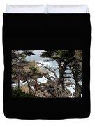 Coast Of California Duvet Cover