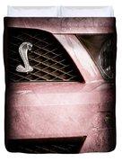 Cobra Grille Emblem Duvet Cover