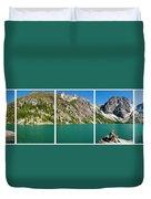 Colchuck Lake, Alpine Lakes Wilderness Duvet Cover