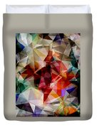 Colorful Geometric Abstract Duvet Cover