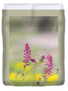 Common Fumitory Duvet Cover
