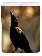 Common Grackle Duvet Cover