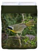 Common Yellowthroat Duvet Cover