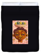 Congalese Face 2 Duvet Cover