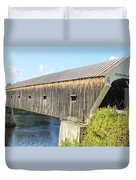 Cornish-windsor Covered Bridge IIi Duvet Cover