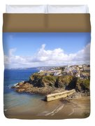Cornwall - Port Isaac Duvet Cover
