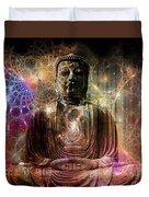 Cosmic Buddha Duvet Cover