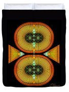 Cosmic Mitosis Duvet Cover