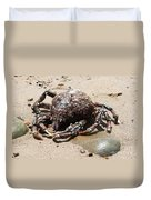Crab Beach Duvet Cover