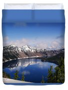 Crater Lake - Oregon Duvet Cover