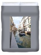 Cruisin' The Canals Duvet Cover