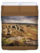 Curbar Edge Duvet Cover