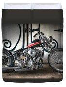 Custom Bike  Duvet Cover