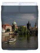 Czech Republic, Prague Duvet Cover