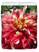 Dahlia Named Bodacious Duvet Cover
