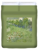 Daubigny's Garden Duvet Cover