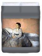 Degas' Madame Rene De Gas Duvet Cover