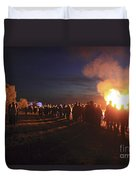 Diamond Jubilee Beacon On Epsom Downs Surrey Uk Duvet Cover