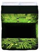 Digital Tunnel Duvet Cover