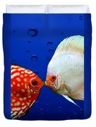 Discus Fish Duvet Cover