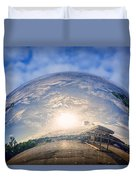 Distorted Reflection Duvet Cover