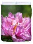 Double Click Cosmos Named Rose Bonbon Duvet Cover