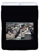 Downtown Lincoln Duvet Cover