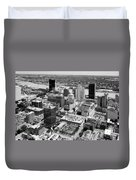 Downtown Skyline Of Toledo Ohio Duvet Cover