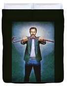 Dr House Duvet Cover