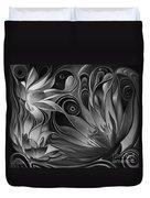 Dynamic Floral Fantasy Duvet Cover