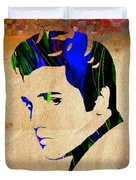Elvis Presly Wall Art Duvet Cover