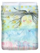 Embraced By Love Duvet Cover