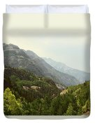 Engineer Pass In Colorado  Duvet Cover