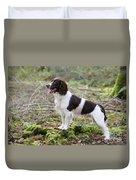 English Springer Spaniel Dog Duvet Cover