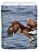 European Fishing Sea Eagle 4 Duvet Cover